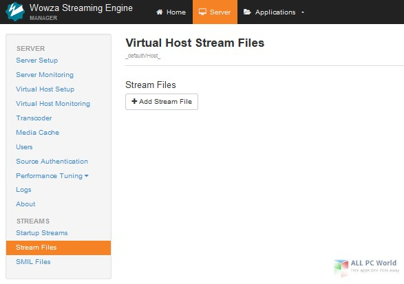 Wowza Streaming Engine 4.3