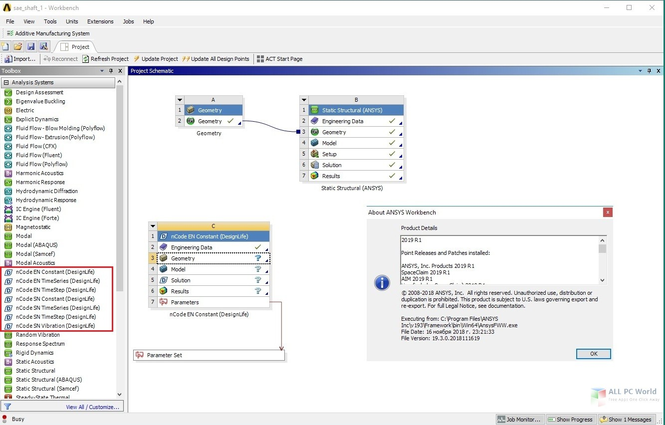 ANSYS nCode DesignLife 2019 R1