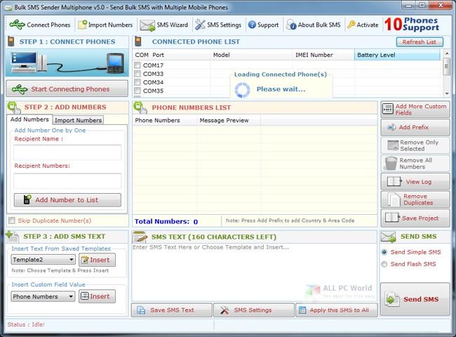 Bulk SMS Sender 2.8