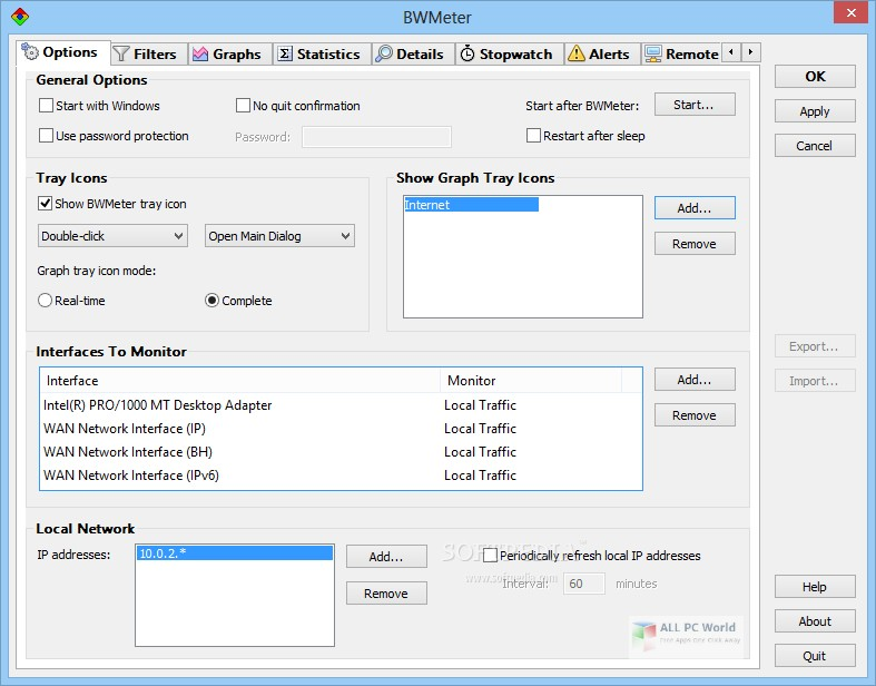 DeskSoft BWMeter 8.0 Free Download