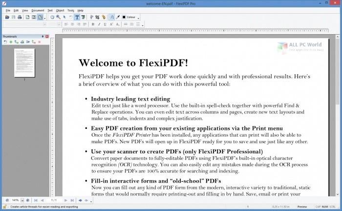 SoftMaker FlexiPDF 2022 Professional Free Download