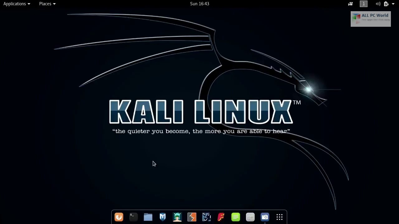 Kali Linux 2019 Free Download All Pc World