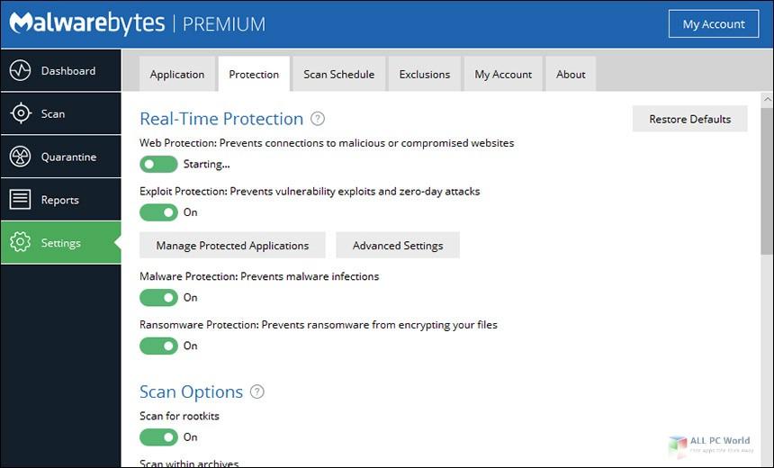 Malwarebytes Premium 3.7 Free Download