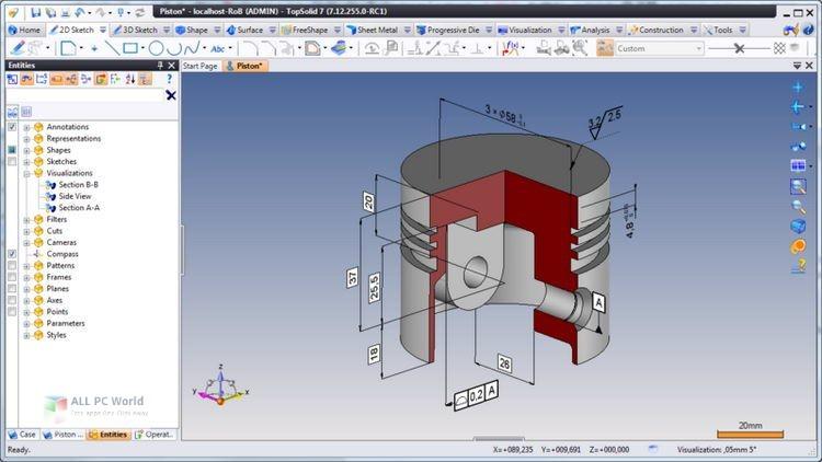 Missler Software TopSolid 7.13