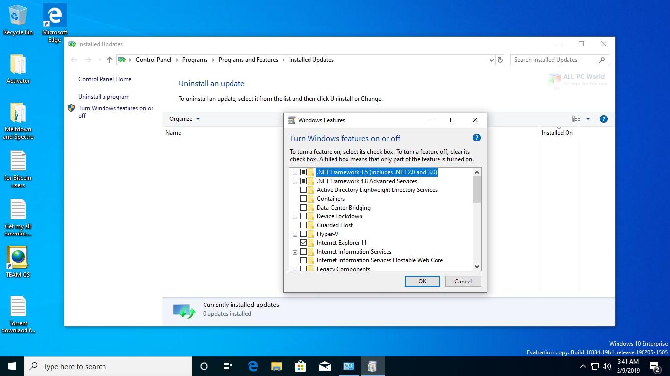 Windows 10 AIO 19H1 Feb 2019 Free Download