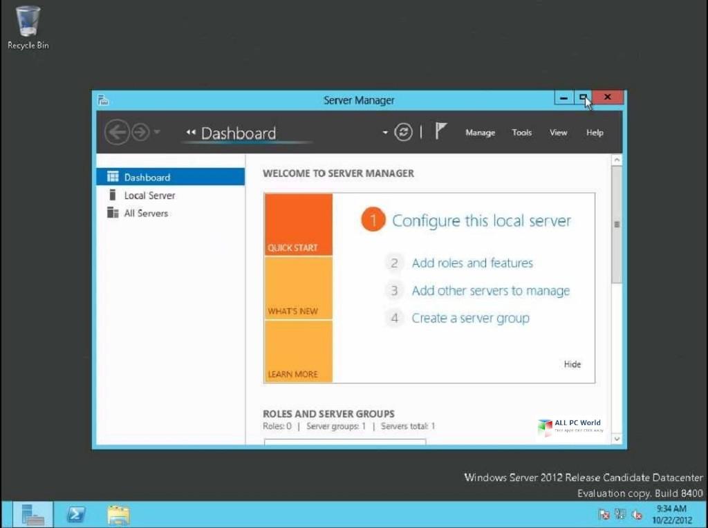 Windows Server 2012 R2 AIO Feb 2019 DVD ISO