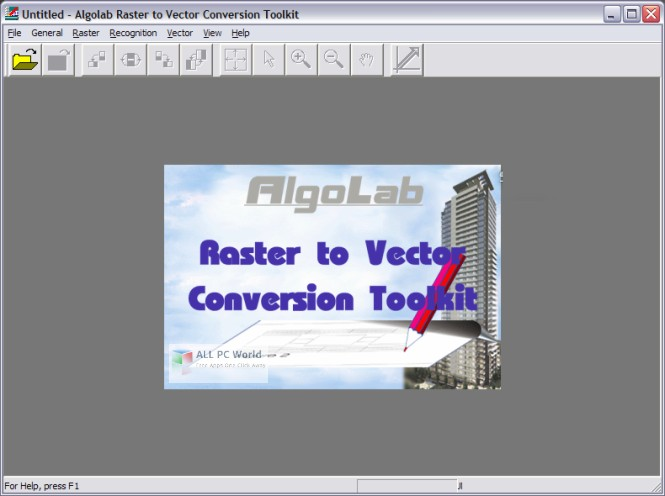 AlgoLab Raster to Vector Conversion Toolkit 2.9 Free Download