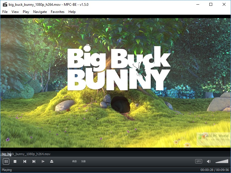 Media Player Classic Home Cinema Black Edition 1.5 Free Download