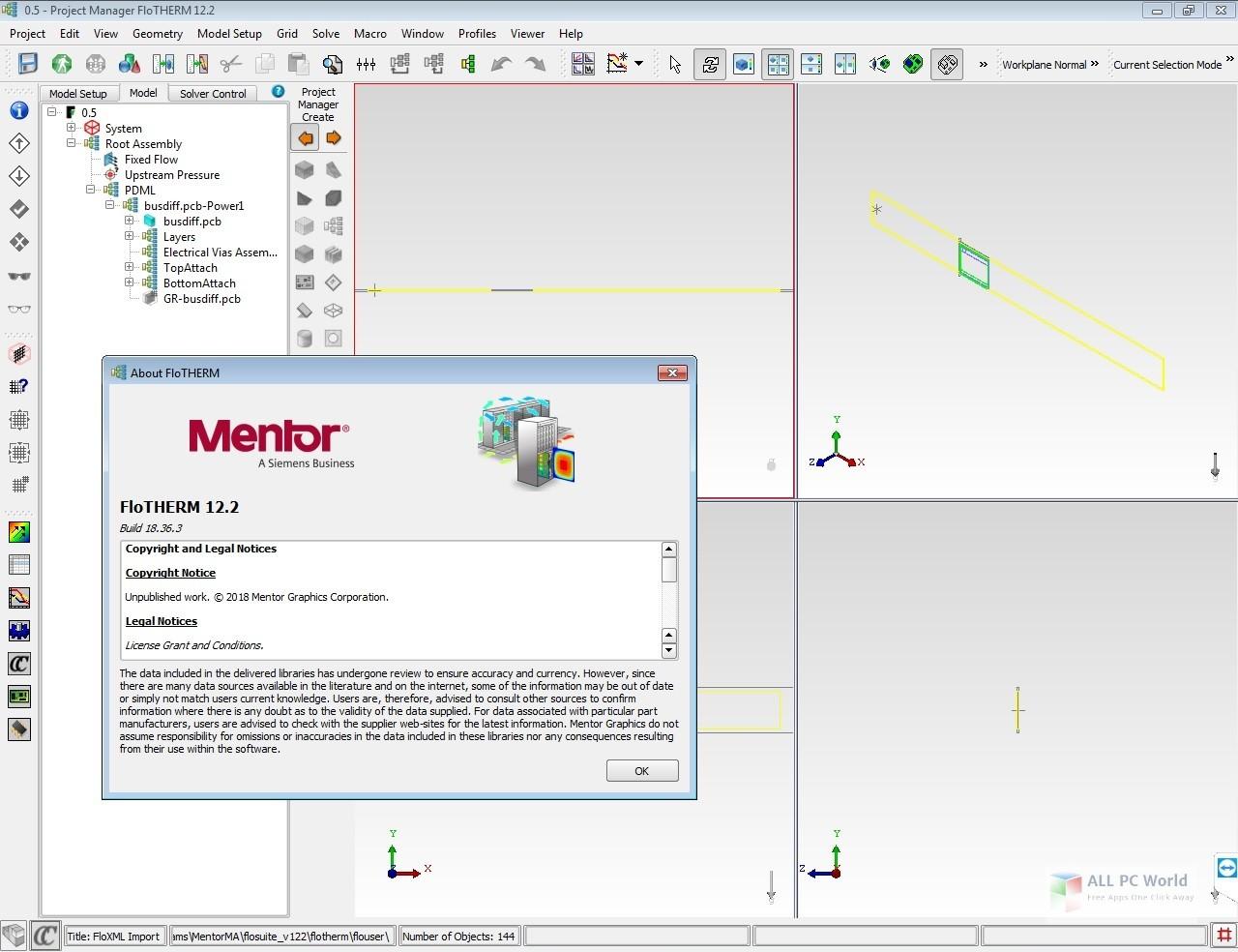 Mentor Graphics FloTHERM Suite 12.2