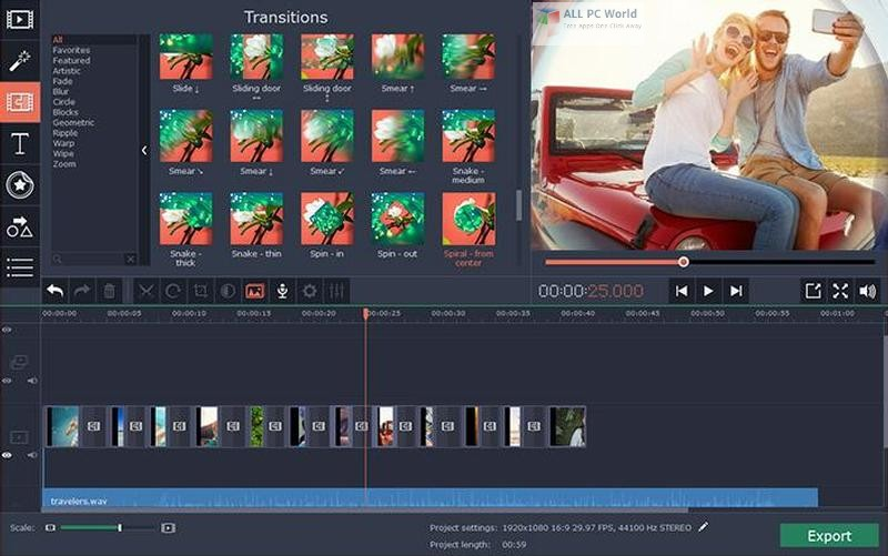 Movavi Video Editor Plus 15.2 FreeDownload