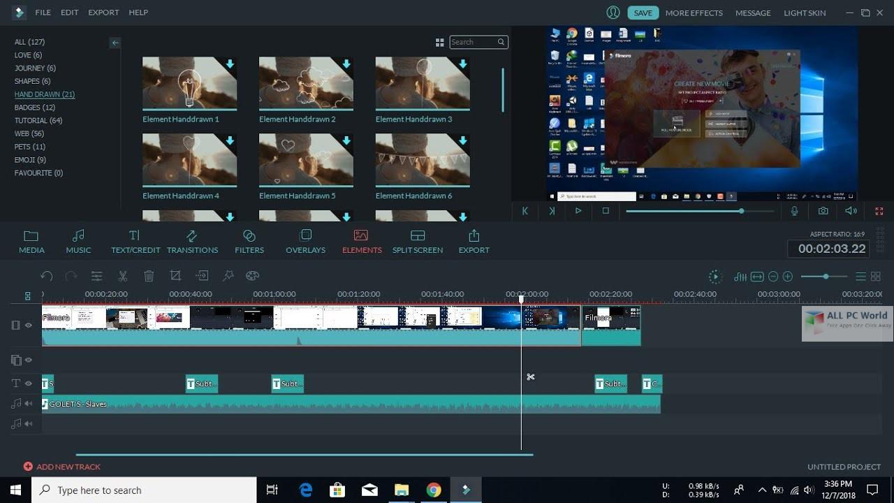 Wondershare Filmora Effects Pack 9