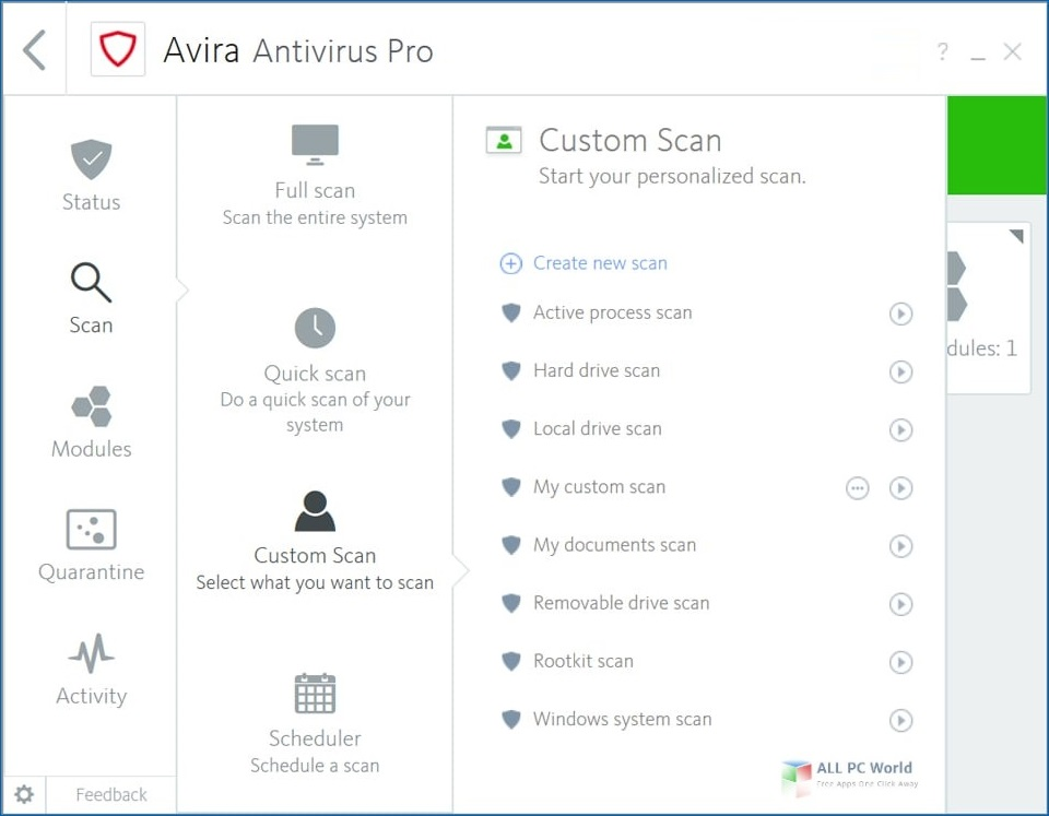 Avira Antivirus Pro 2019 v15.0 Free Download