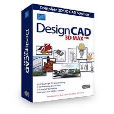 Download IMSI DesignCAD 3D Max 2018 v27.0 Free