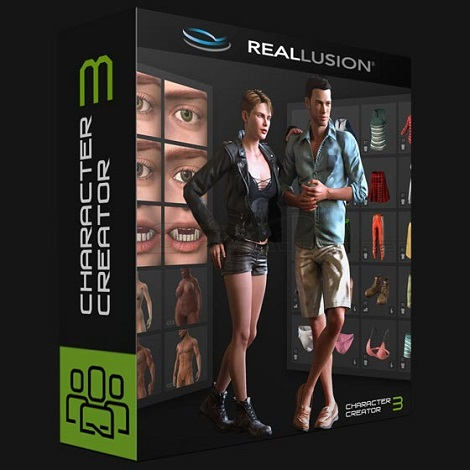 Download Reallusion iClone Character Creator 3 with Resource Pack Free d