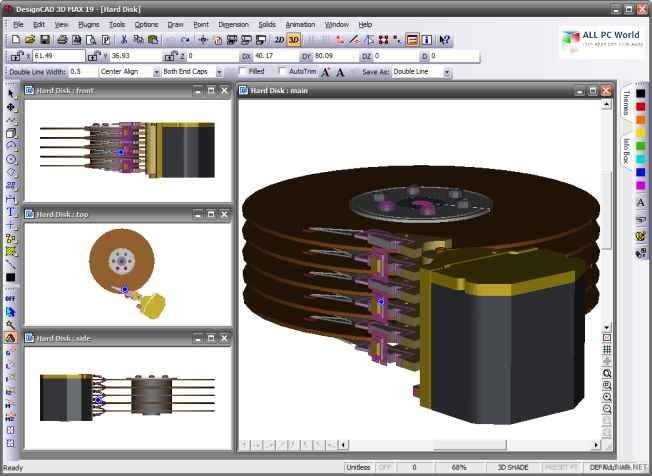 IMSI DesignCAD 3D Max 2018 v27.0 Free Download