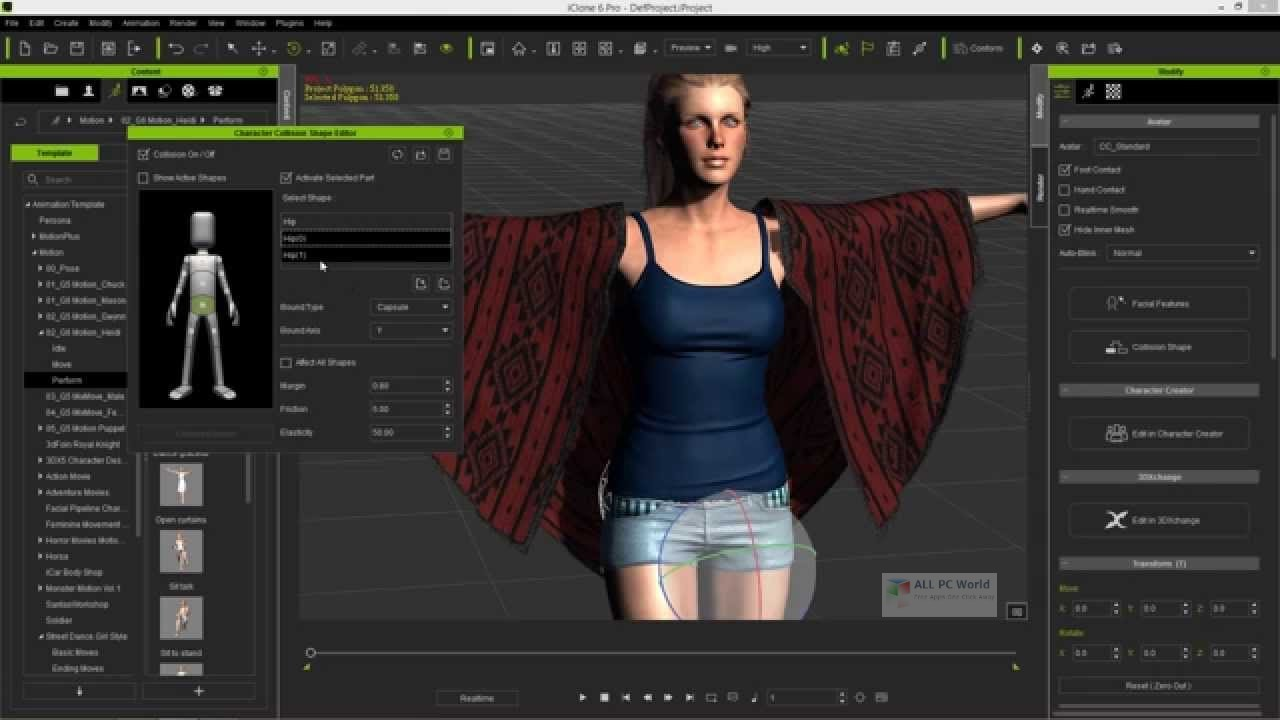 Reallusion iClone Character Creator 3 with Resource Pack Download