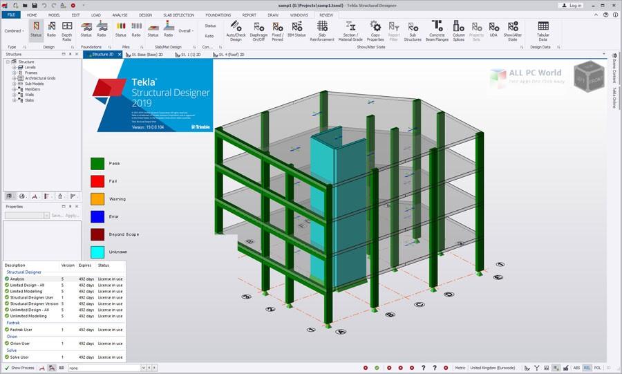 Tekla Structural Designer 2019 SP2 v19.0