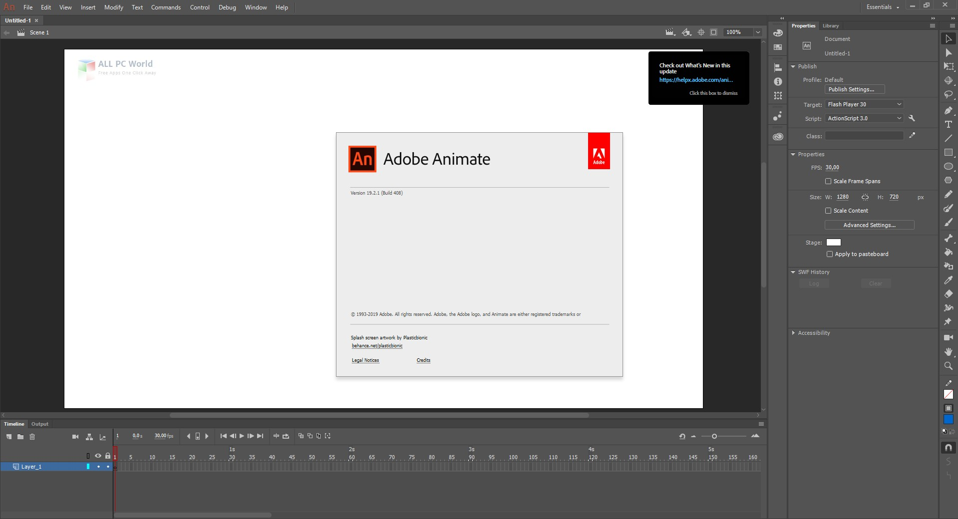 Adobe Animate CC 2019 v19.2.1