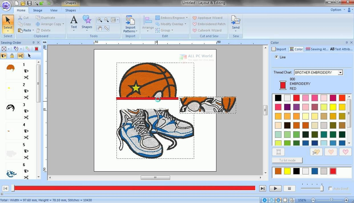 PE-Design 2016 Personal Embroidery Free Download