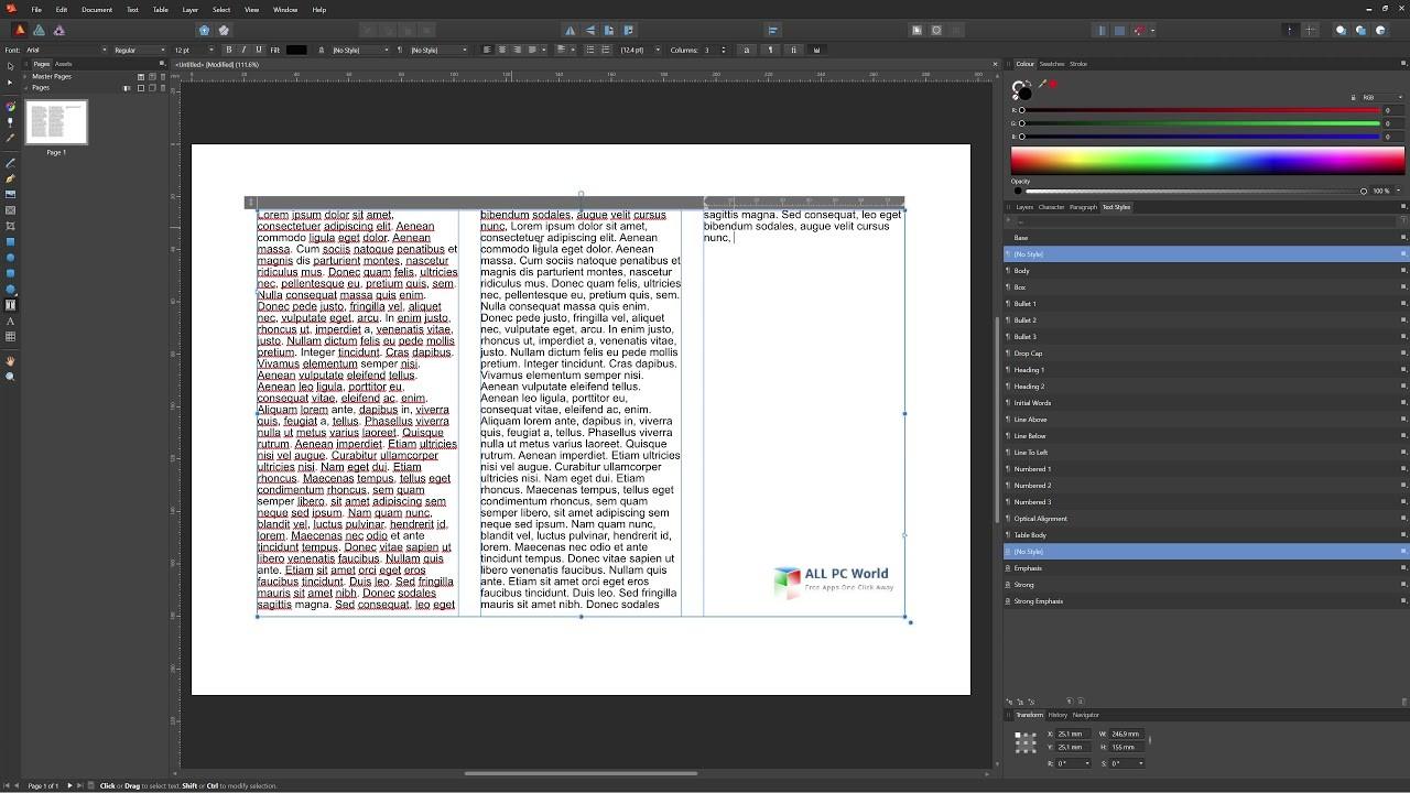 Serif Affinity Publisher 1.7