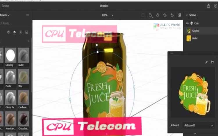 Adobe Dimension CC 2019 v2.3 Download