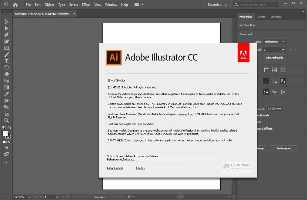 Adobe Illustrator CC 2019 v23.0.5