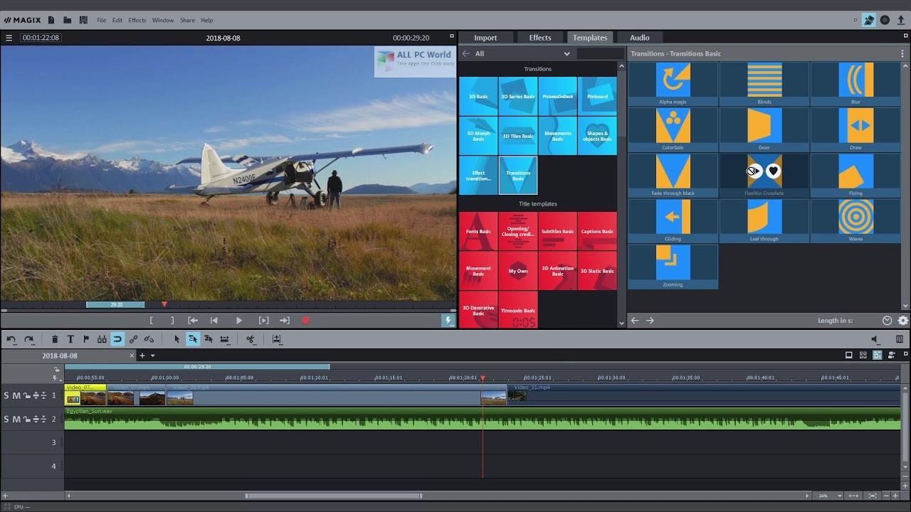 MAGIX Movie Edit Pro 2020 Premium 19.0