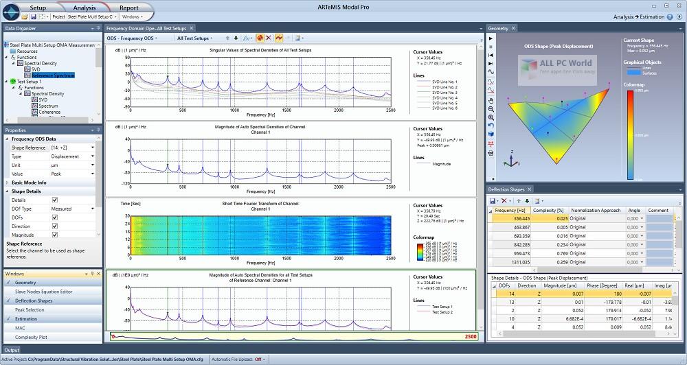 SVIBS ARTeMIS Modal Pro 6.0 Free Download