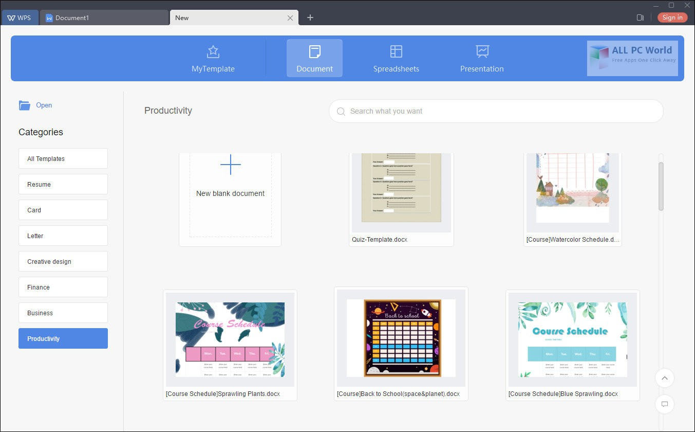 WPS Office 2019 v11.2 Free Download