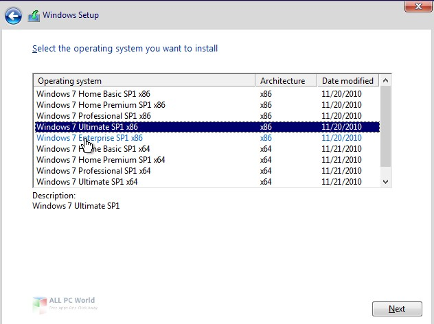 Windows 7 SP1 AIO VL August 2019