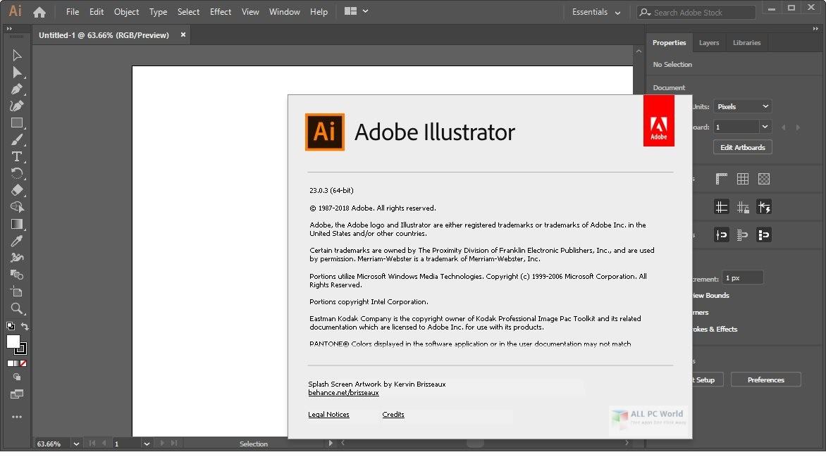 Adobe Illustrator CC 2019 v23.1 Download
