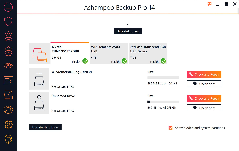 Ashampoo Backup Pro 14 Download + Giveaway