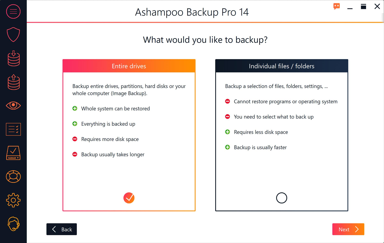 Ashampoo Backup Pro 14 Free Download