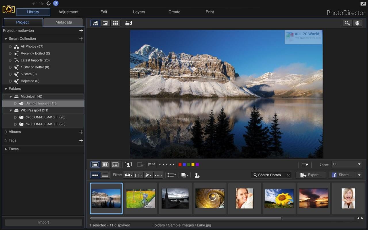 CyberLink PhotoDirector Ultra 11.0 Download