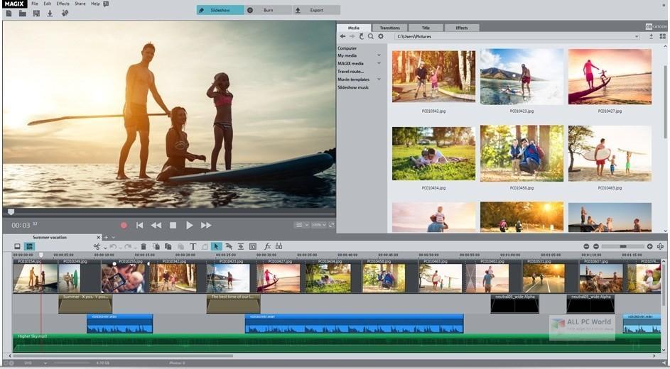 MAGIX Photostory 2020 Deluxe 19.0