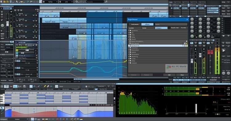 MAGIX Samplitude Pro X4 Suite 15.2