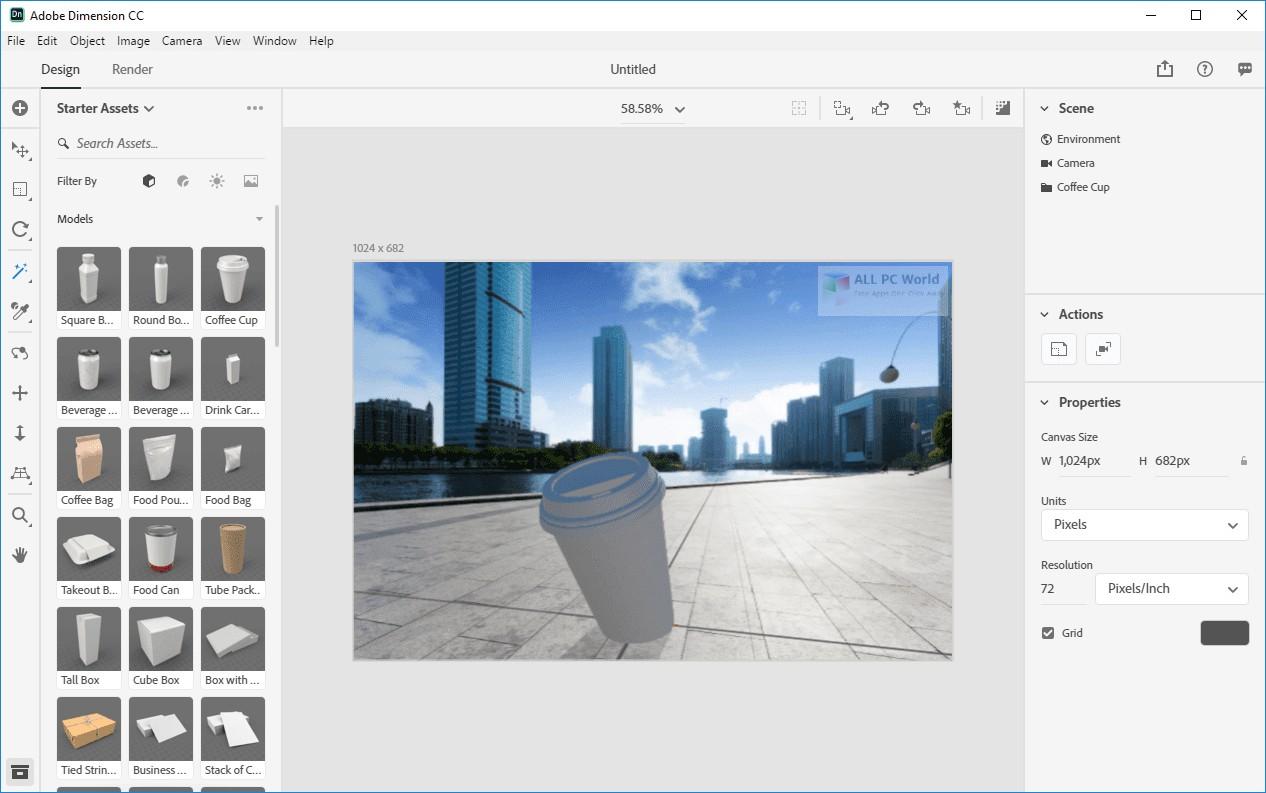 Adobe Dimension CC 2020 3.0 Download