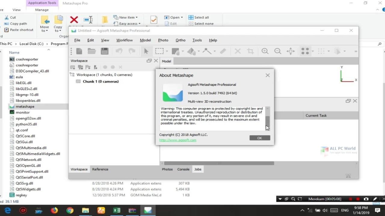 Agisoft Metashape Professional 1.5 Download