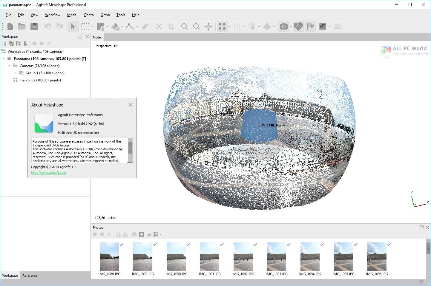 Agisoft Metashape Professional 1.5