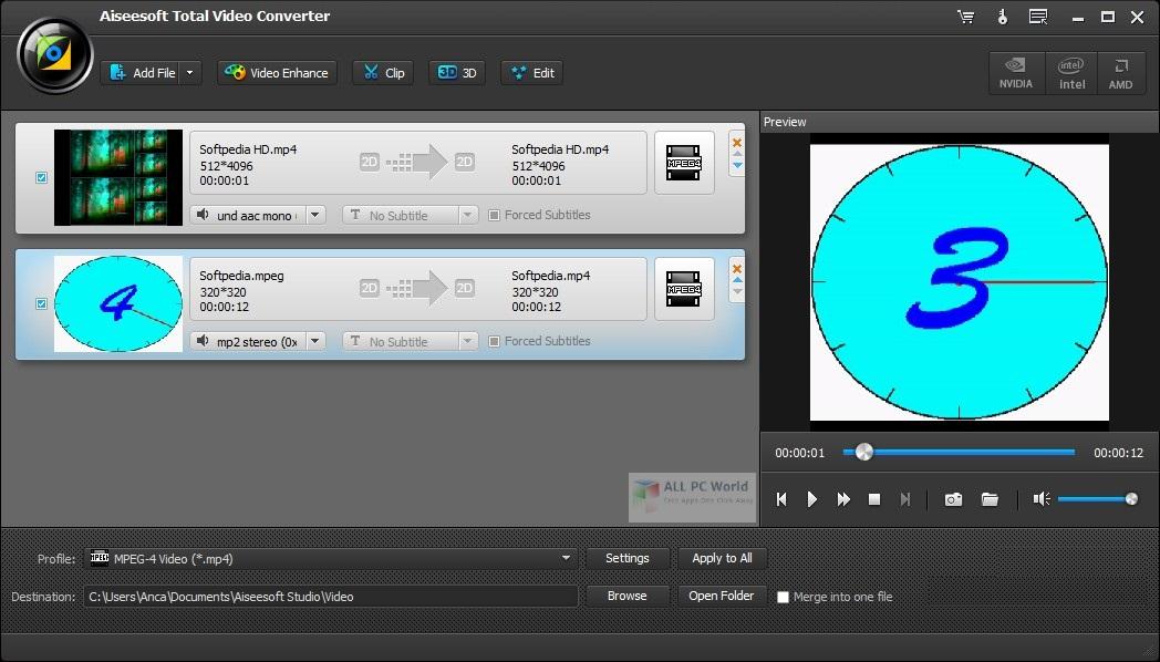 Aiseesoft Total Video Converter 9.2
