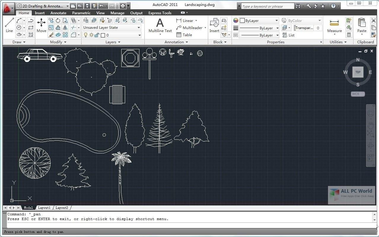 Autodesk AutoCAD 2011 Free Download