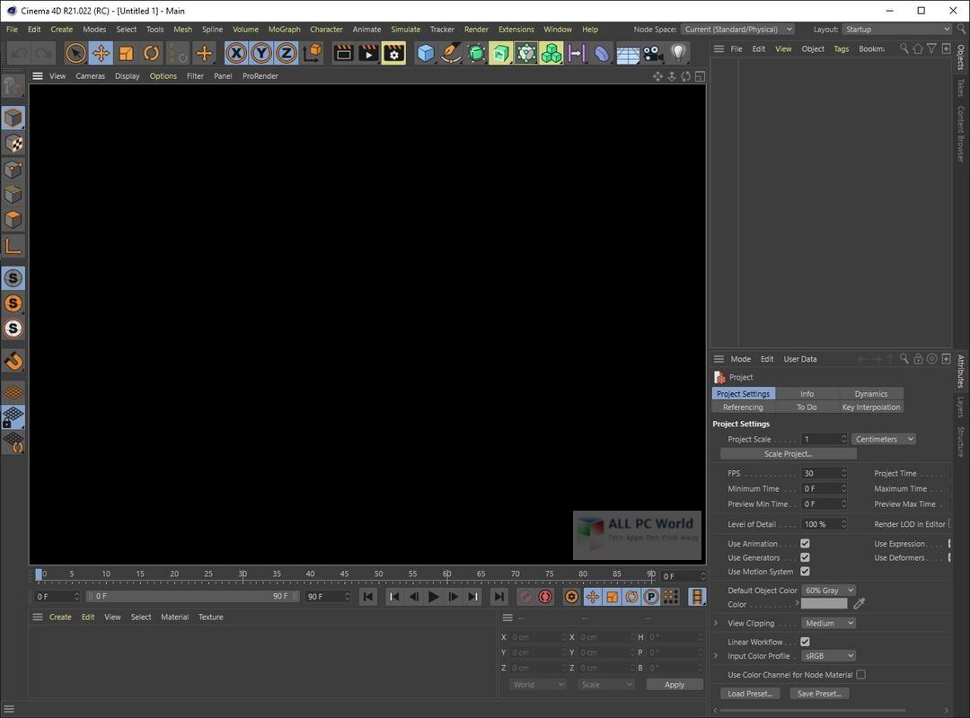 Maxon CINEMA 4D R21.0 Download
