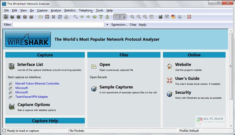 Wireshark 3.0 Download