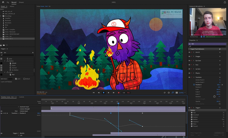 Adobe Character Animator CC 2020 v3.0 Download