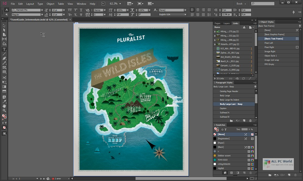 Adobe InDesign CC 2020 Free Download ALL PC World