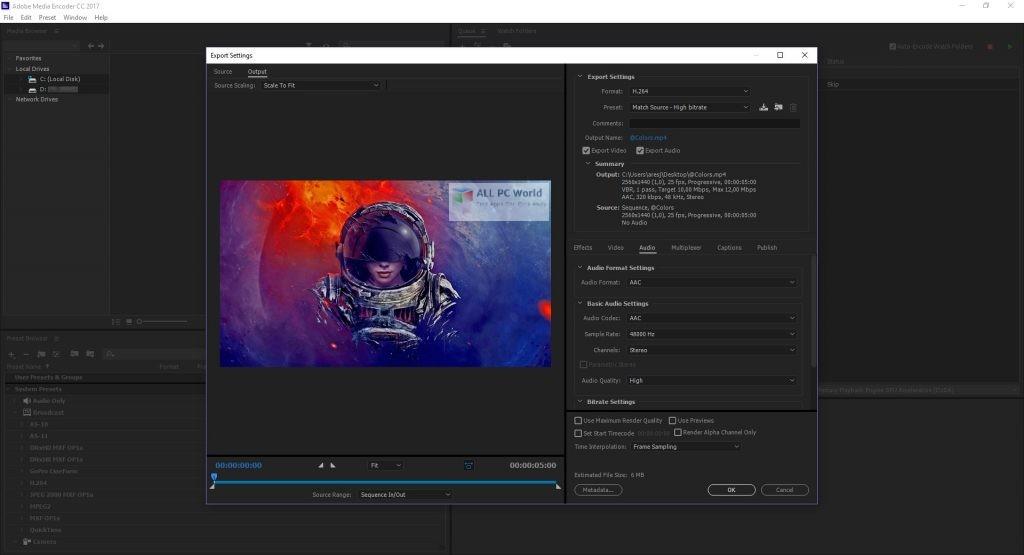 Adobe Media Encoder CC 2020 v14.0 Download