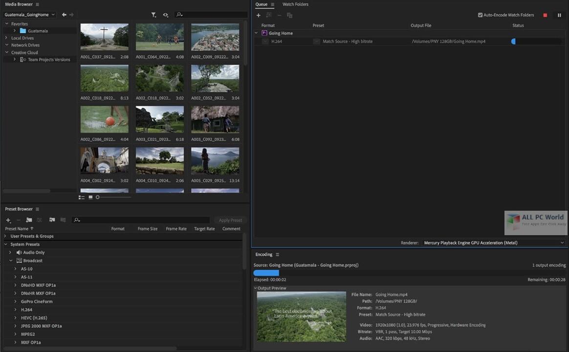 Adobe Media Encoder CC 2020 v14.0