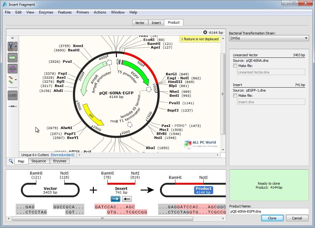 GSL Biotech SnapGene 5.0