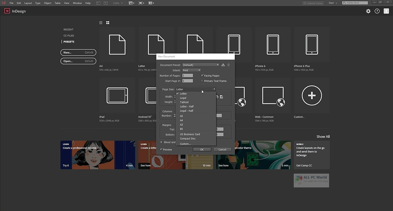 Adobe InDesign CC 2020 Build 15.0