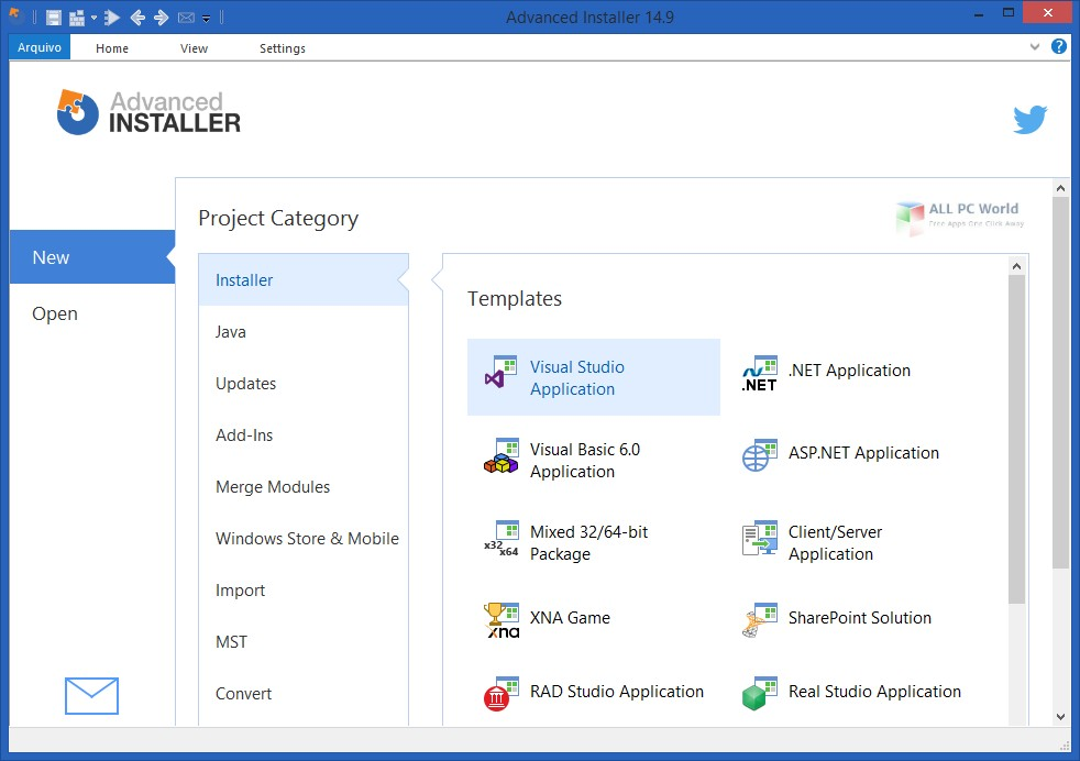 Advanced Installer Architect 16.6 Free Download